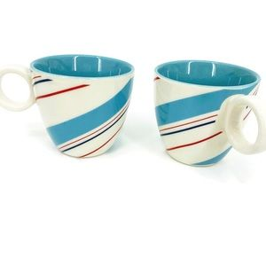Starbucks Espresso Cups Candy Striped Holiday (2)